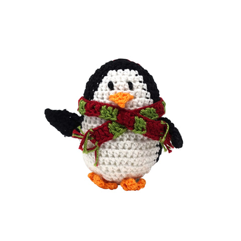 Crochet Penguin Ornament