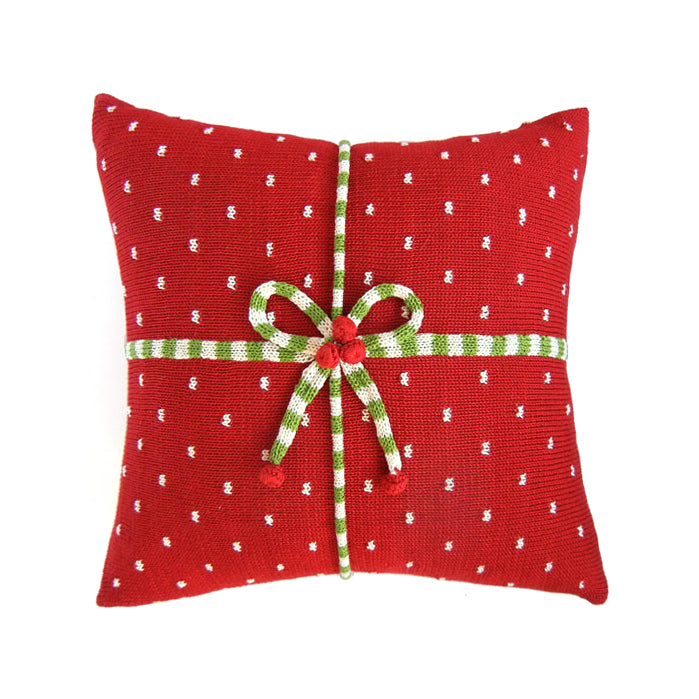 "Gift 14"" Pillow, Red"