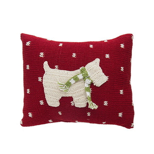 Westie Dog Mini Pillow