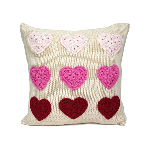 "Valentine Heart 10"" Pillow"