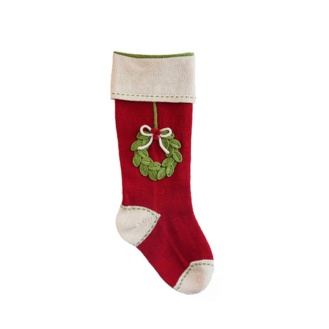 Wreath Stocking