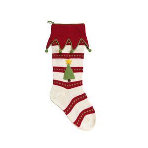 Star Tree Stocking, 18""