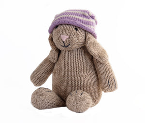 Brown Bunny in Slouch Hat