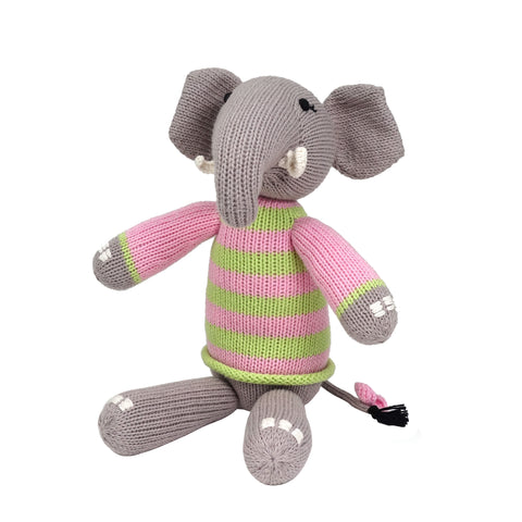 Elephant in Sweater, Pink