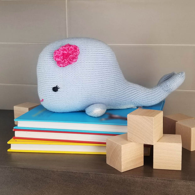 Whale with Flower 1