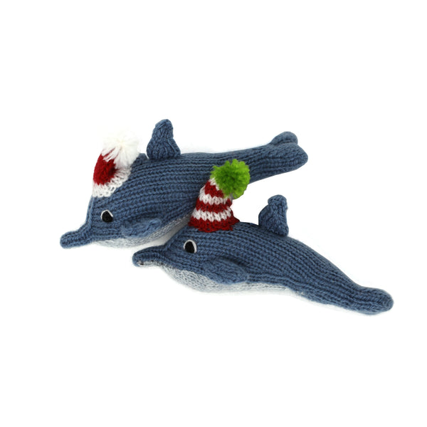 Dolphin Ornament- set of 2