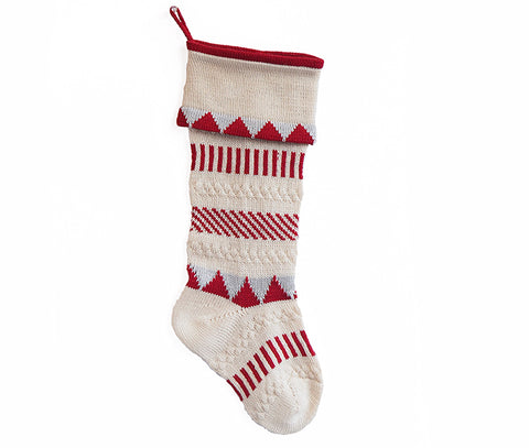 Multi-Stripe Stocking