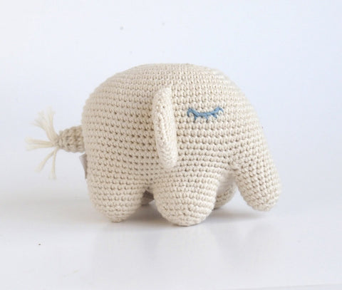 Baby Elephant, 100% Organic Cotton