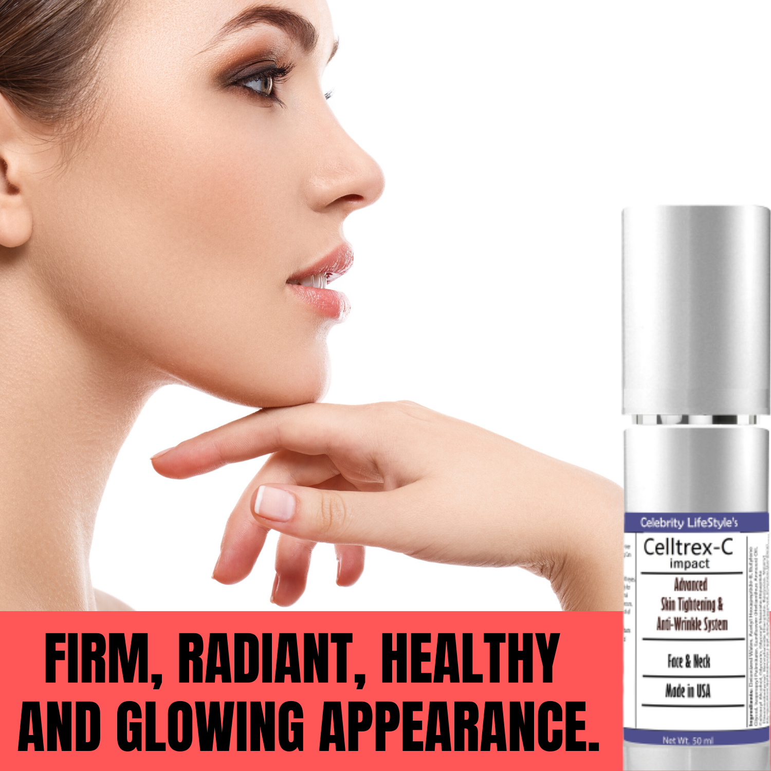 Skin Tightening Cream Neck Firming, Anti-Wrinkle & Anti-Ageing Face Cream