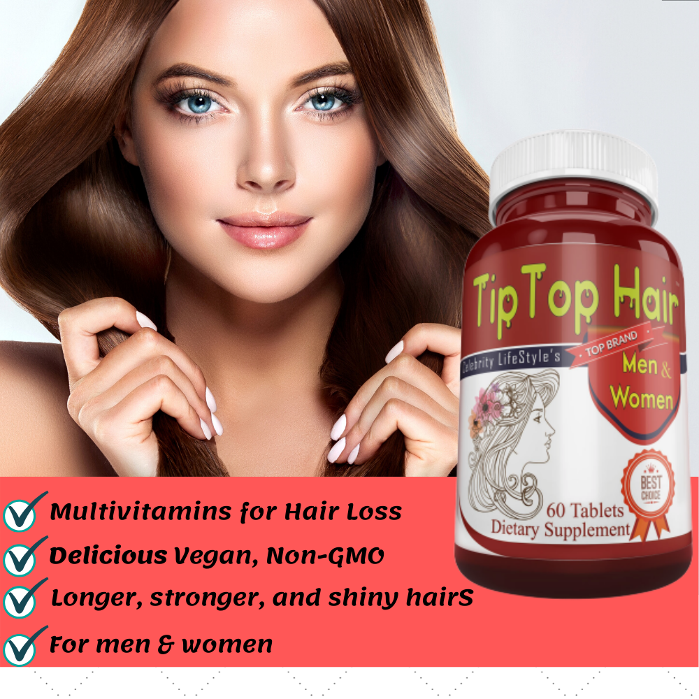 Biotin Hair Skin And Nails Vitamins for Men & Women