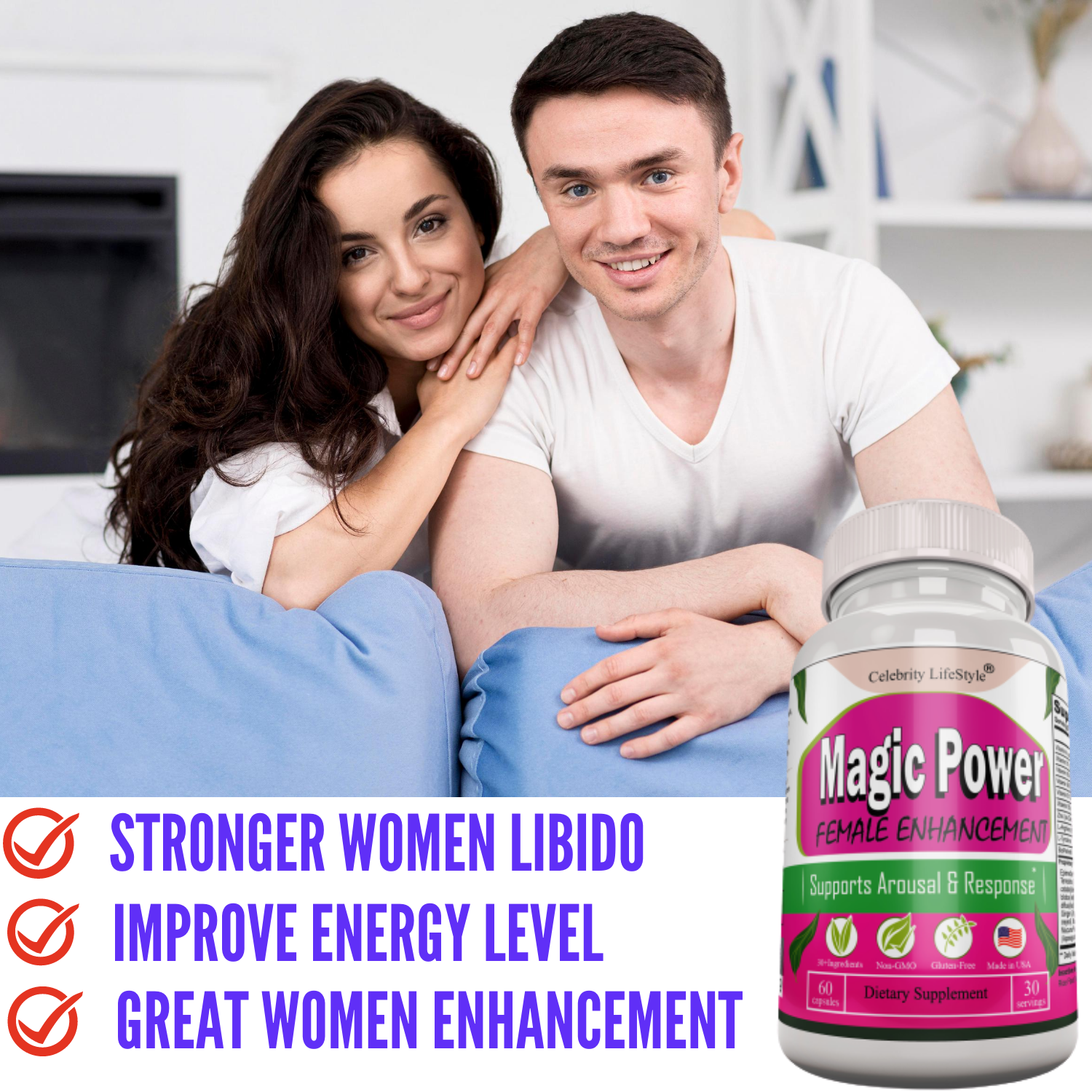 Female Enhancement Pills for women 60ct