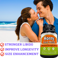 Horny Goat Weed for Women and Men- 60 Pills