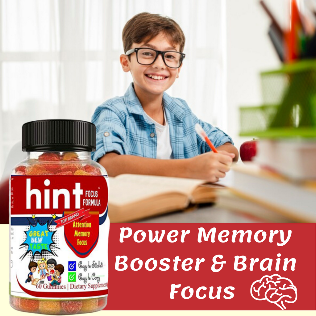 Kids Brain Focus Booster Gummies