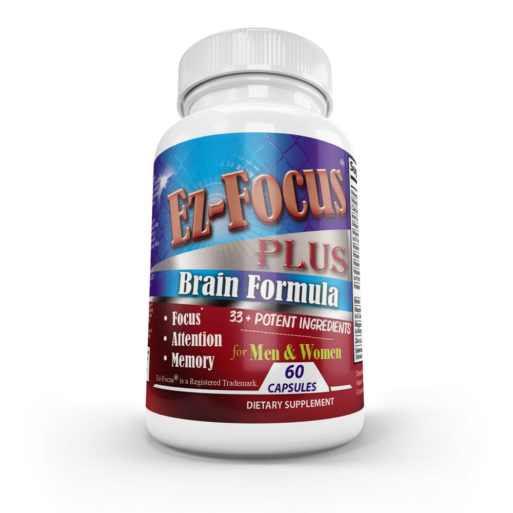 Nootropic Adult Brain Booster Supplement
