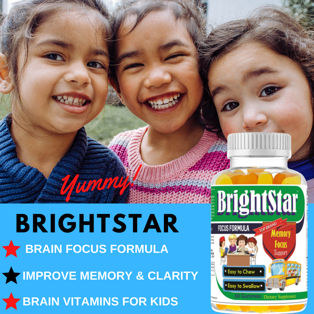 Brain Focus & Attention Formula for Kids