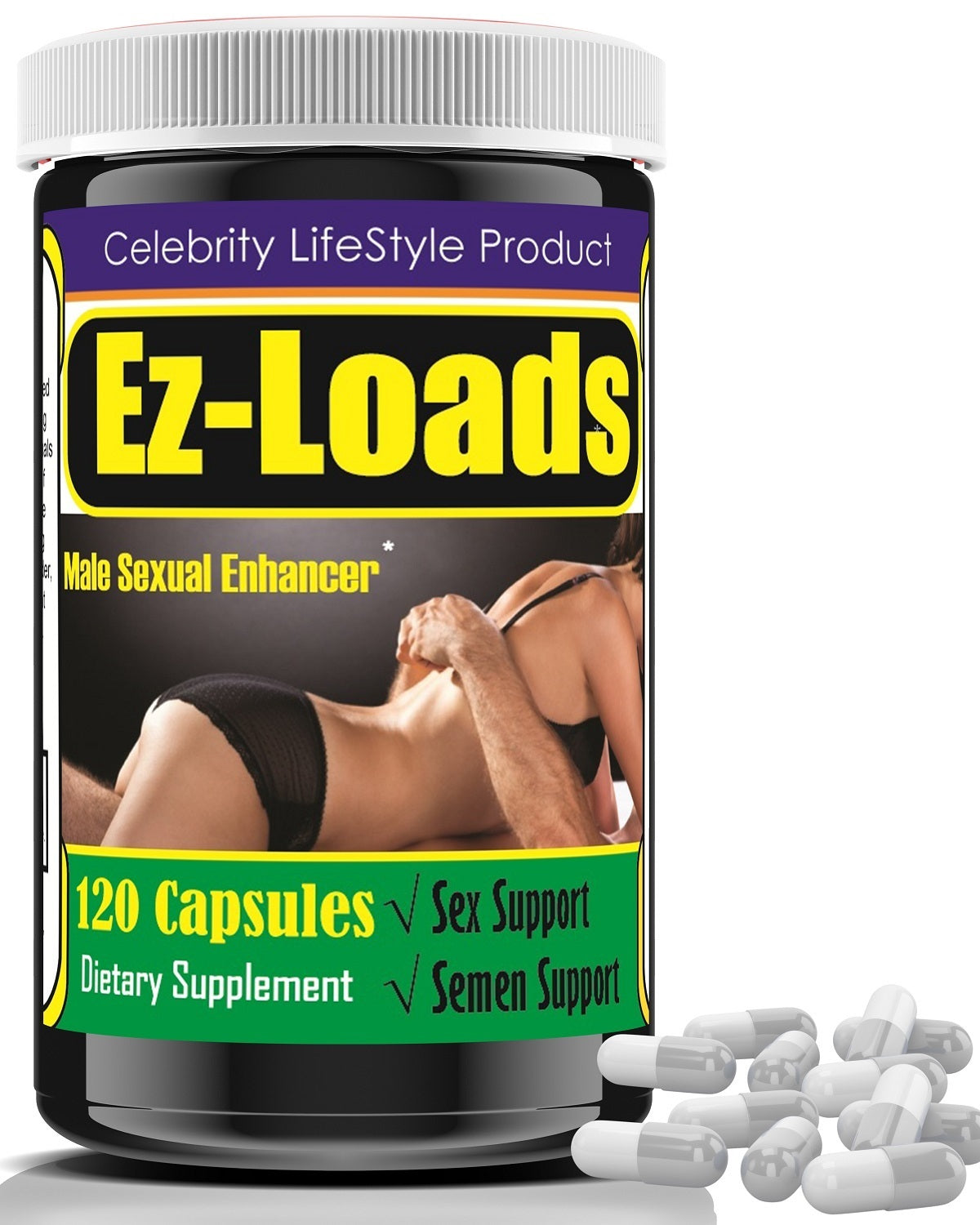 Male Enhancement Pills, Testosterone Libido Booster- 120ct