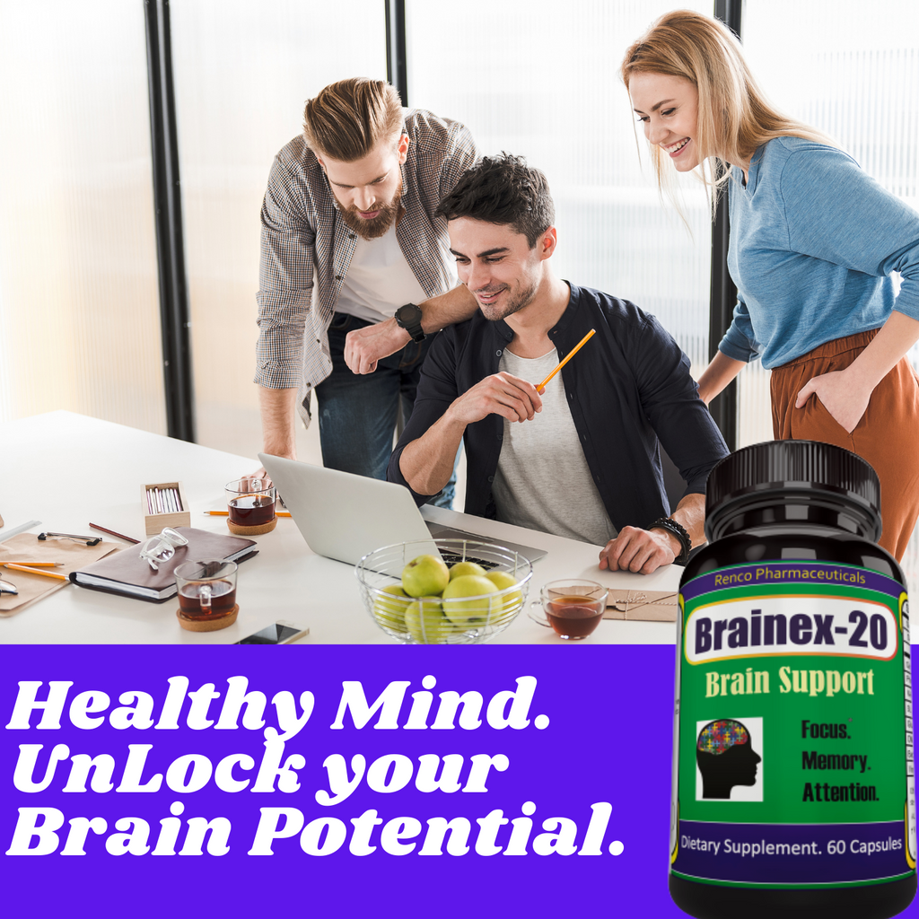 Brain Booster Supplement For Adults- 60ct
