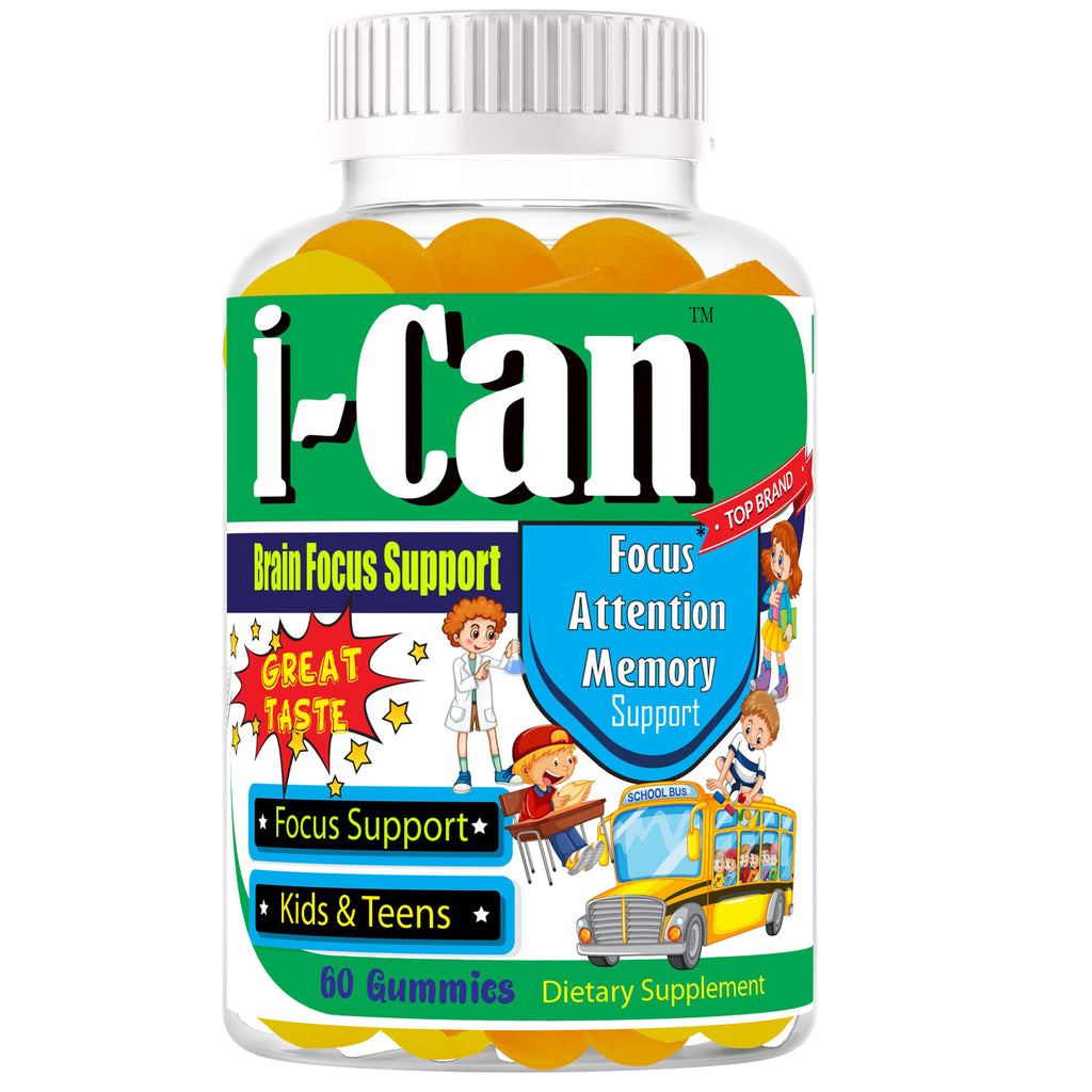 Kids Brain Focus Chewable Gummies