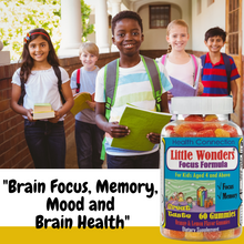 Brain Booster Vitamins for Teens, Omega 3 & DHA Gummies