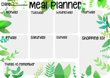 Load image into Gallery viewer, Meal Planner Whiteboard