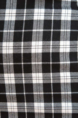 Black and White Plaid / S