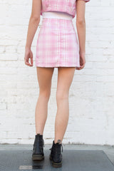 Pink And White Plaid / S