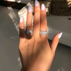 Rhinestone Crystal Ring
