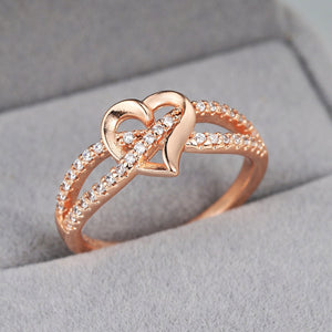 Romantic Heart Ring
