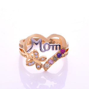 Love Mom Ring