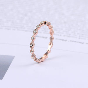 Trendy Thin Ring