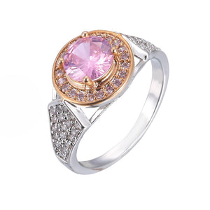 Two Color Glamour Ring