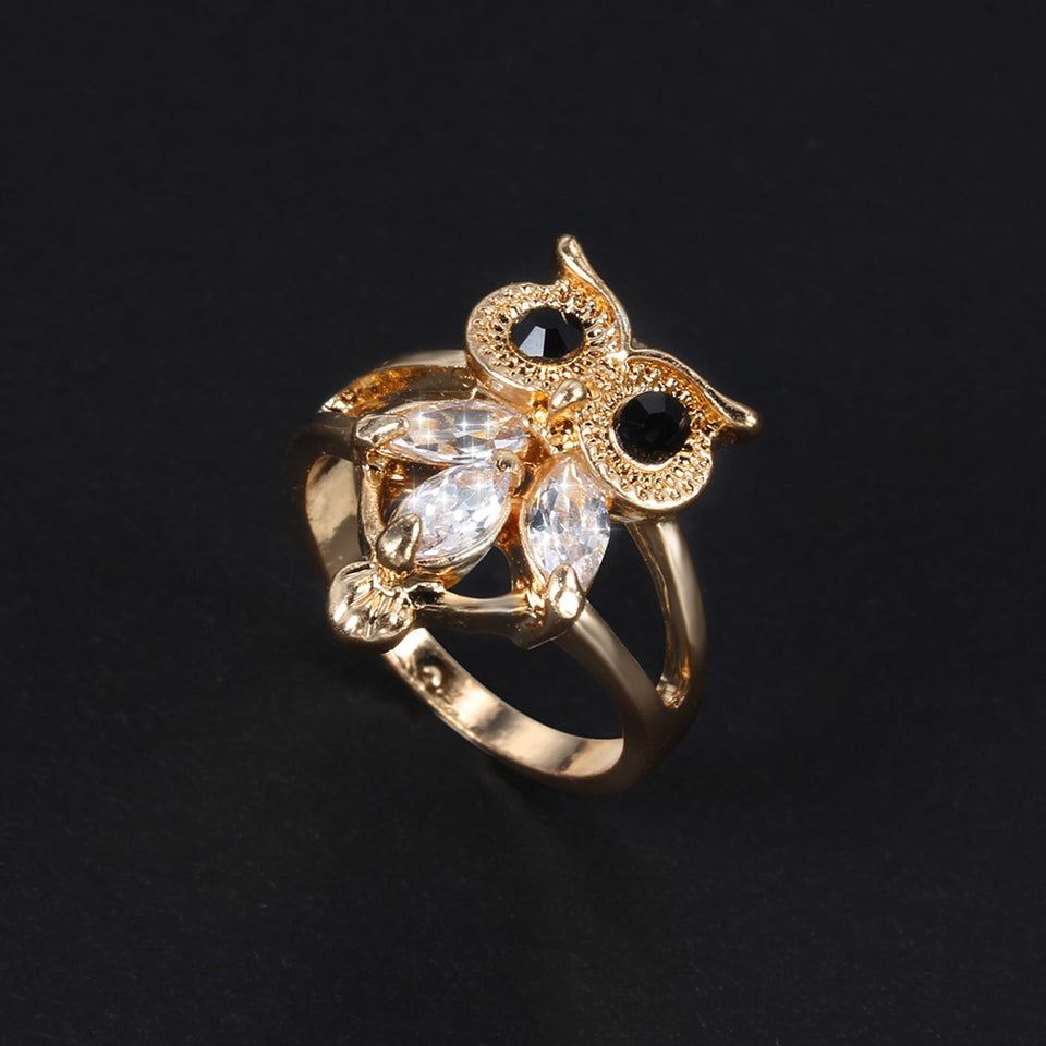 Owl Shaped Ring