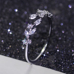Leaf Shaped Ring