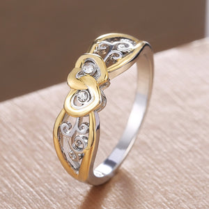 Hollow Heart Ring