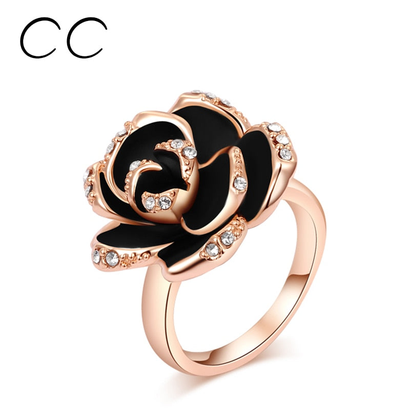 Rose Shape Party Ring