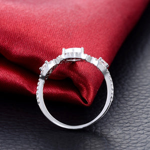 Romantic Heart Shaped Ring