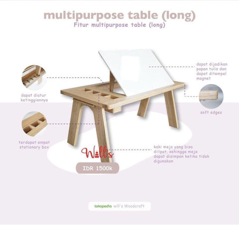 Will's Multipurpose Table Long