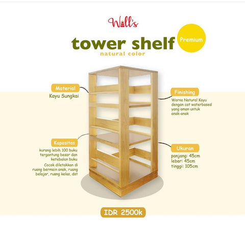Will's Tower Shelf Premium