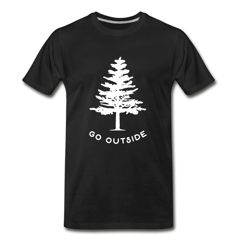 Go Outside Shirt - black
