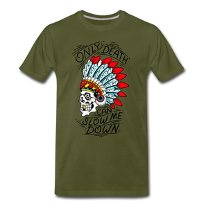 Men's Premium T-Shirt - olive green