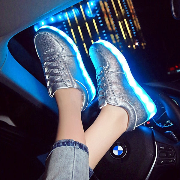 LED Shoes Sliver