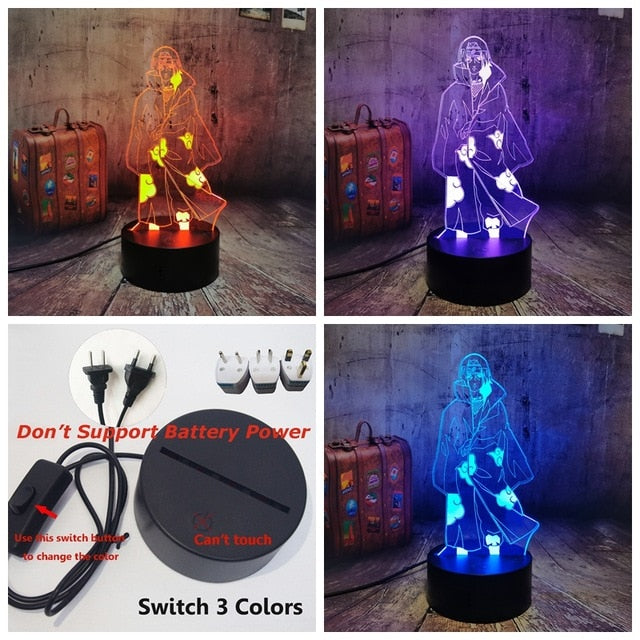 Naruto 3D Led Lamp