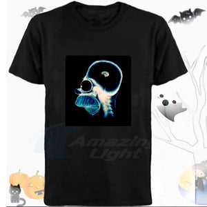 LED Sound Activated T Shirt