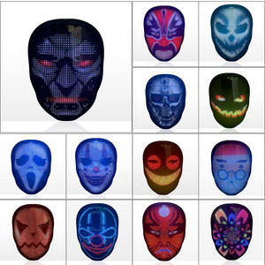 Led Face Changing Mask