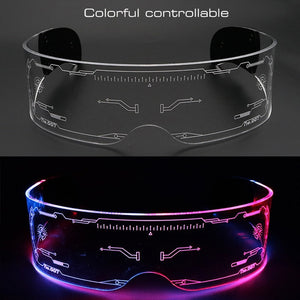 LED Futuristic Glasses