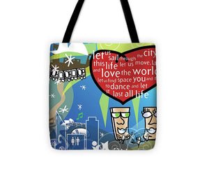 Ode to Chicago - Tote Bag