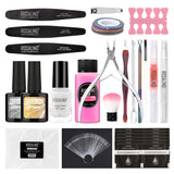 Nail Tool Set Nail Manicure Kit 20 pcs For Nail Gel