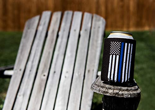 Thin Blue Line Can Coolers 6-Pack