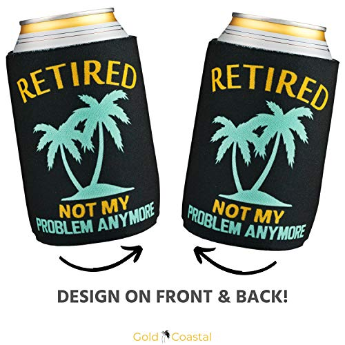 Retirement Can Coolers 6-Pack