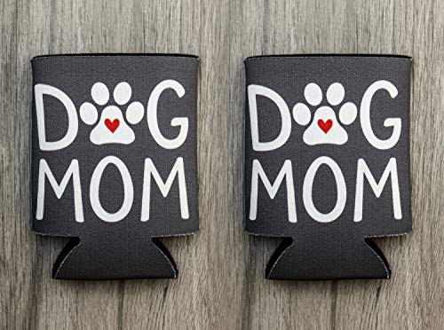 Dog Mom Can Coolers 2-Pack